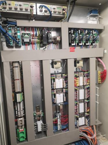Completed interface cabinet