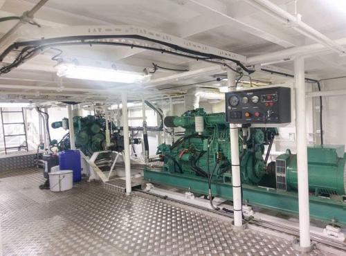 Engine room complete