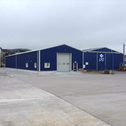 LHD new net manufacture building