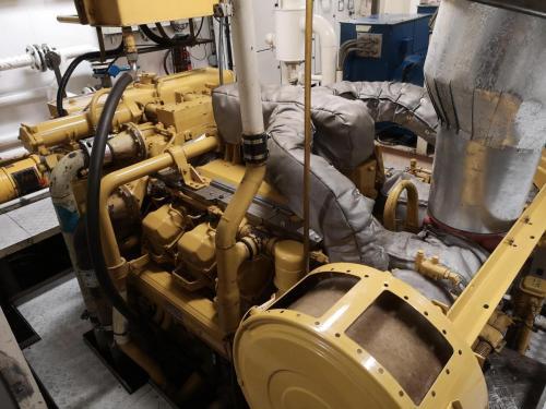 Cat 3508 prolpulsion engine